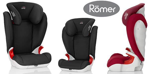 Römer KID II silla de coche del grupo 2/3 para niños desde 4 a 12 años chollo