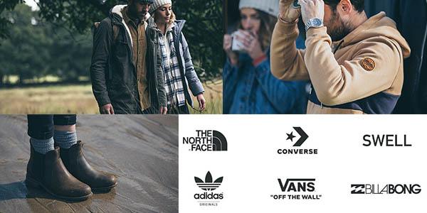 ropa de primeras marcas rebajada en Surfdome noviembre 2017