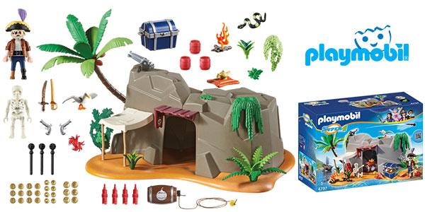 Set Cueva pirata 4797 de Playmobil rebajada