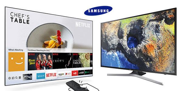 "Smart TV Samsung UE43MU6125,UHD 4K de 43"" barata"