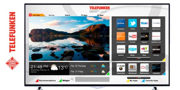 "Smart TV Telefunken AURUM43UHD de 4K con pantalla de 43"" chollazo en eBay"