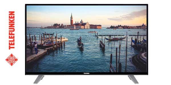 "Smart TV Telefunken AURUM43UHD de 4K con pantalla de 43"" chollo en eBay"