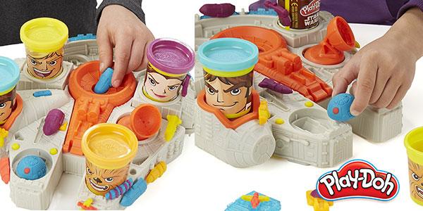 Halcón Milenario de Star Wars y Play-Doh al mejor precio