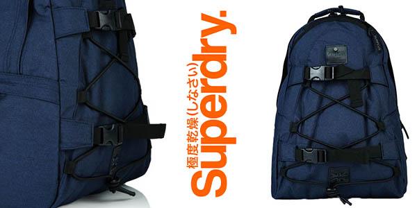 Superdry Surplus Navy Marga mochila casual barata