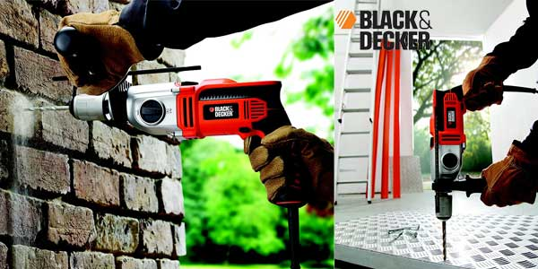 Taladro percutor Black and Decker KR1102K-QS 1100W barato en Amazon