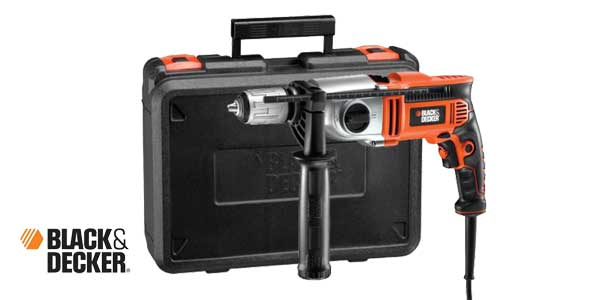 Taladro percutor Black and Decker KR1102K-QS 1100W chollo en Amazon