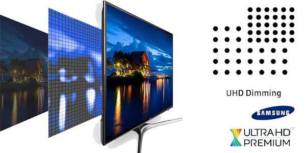 """Smart TV Samsung UE58MU6125 UHD 4K de 58"""" chollazo en eBay"""