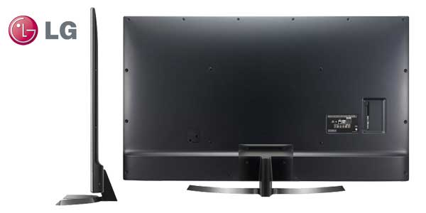 "Smart TV LG 55UJ670V UHD 4K HDR de 55"" barato en Amazon"