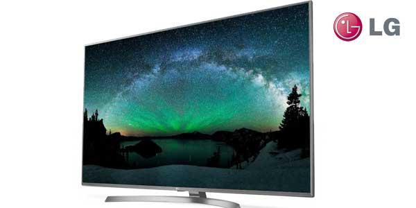 """Smart TV LG 55UJ670V UHD 4K HDR de 55"""" chollazo en Amazon"""