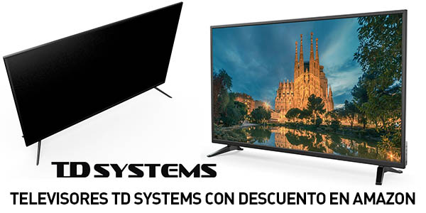 Televisores TD Systems LED Full HD baratos