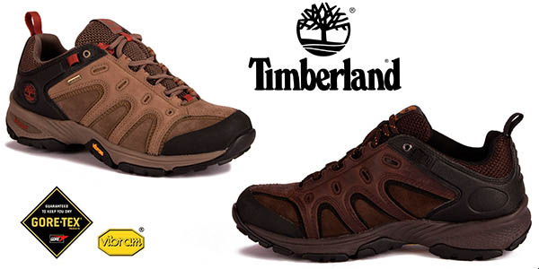 Timberland Ledge Low GTX para trekking en cuero para hombre chollo