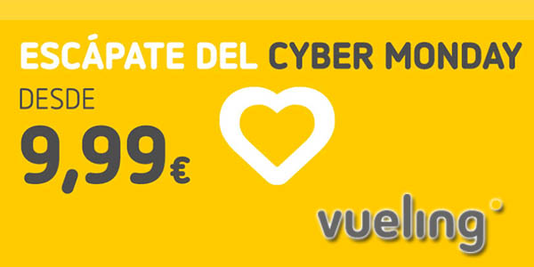 Vueling Cyber Monday 2019