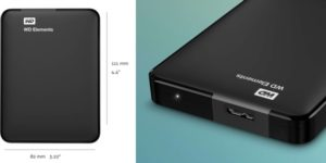 Disco duro portátil WD Elements de 4 TB