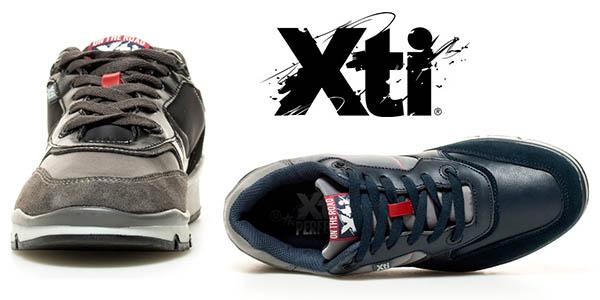 Xti Road zapatillas casual para hombre chollo