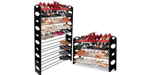 Zapatero organizador de zapatos 10 Alturas 50 pares chollo en eBay