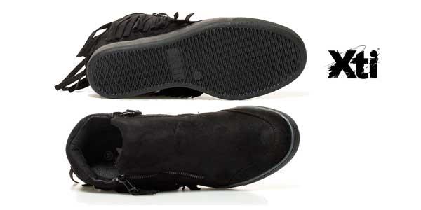 Zapatillas abotinadas XTI Dafne con cuña interna para mujer chollazo en eBay