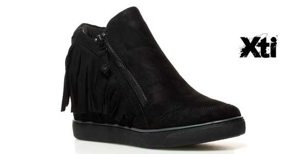 Zapatillas abotinadas XTI Dafne con cuña interna para mujer chollo en eBay
