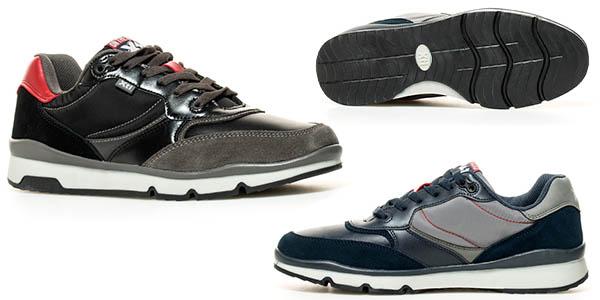 zapatillas cómodas y versátiles para hombre Xti Road
