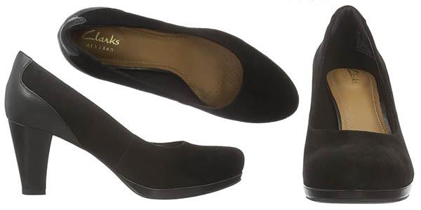 zapatos elegantes de tacón en cuero cómodos con gran relación calidad-precio
