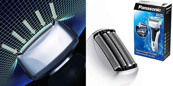 Afeitadora inalámbrica Panasonic ES-RF31-S503 Wet&Dry de 4 hojas para hombre rebajada