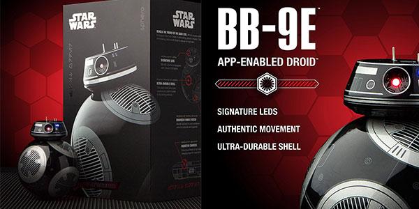 Androide BB-9E (Star Wars) teledirigido con Droid Trainer de Sphero rebajado