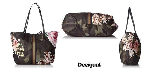 Bolso Desigual Capri Militar para mujer chollo en Amazon Moda