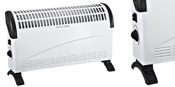 calefactor eléctrico por convección 1500 vatios barato