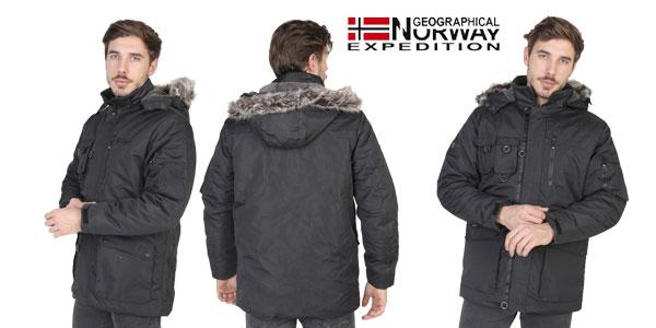 Chaqueta Geographical Norway Amande para hombre con cupón chollazo en eBay