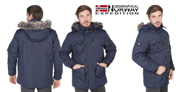 Chaqueta Geographical Norway Amande para hombre con cupón chollo en eBay