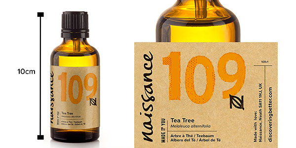 Chollo Bote de aceite esencial del Árbol del té de Naissance (50 ml)