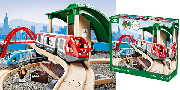circuito de trenes Brio 33512 relación calidad-precio brutal