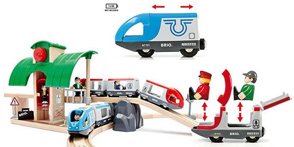 circuito de vías de tren Brio infantil y divertido barato
