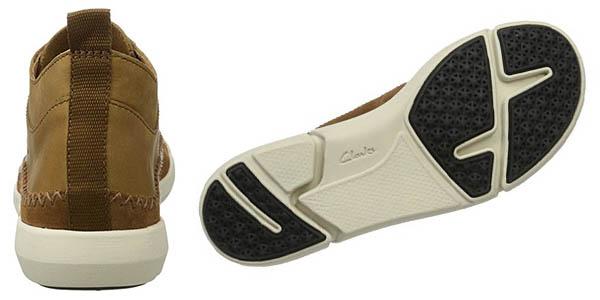 Clarks Trifri Hi botas nobuck cómodas en oferta
