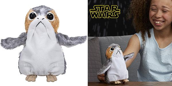Figura Porg de Star Wars de Hasbro rebajada