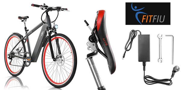 Fitfiu Elite bicicleta eléctrica batería litio 36V 250W cambio Shimano cupón descuento PNAVIDAD10 eBay