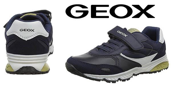 Geox J Bernie A zapatillas para niñ@s baratas
