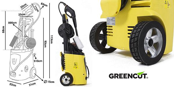 Hidrolimpiadora de alta presión Greencut 3200 PSI rebajada