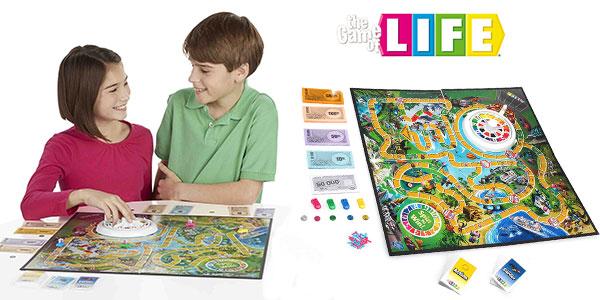Juego de mesa Game of Life de Hasbro al mejor precio