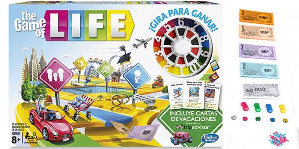 Juego Game of Life de Hasbro barato
