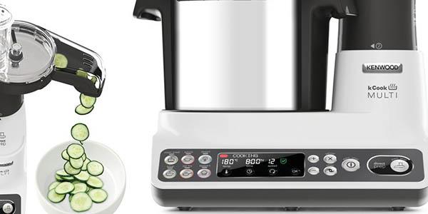 Kenwood kCook Multi CCL401WH robot cocina con procesador de alimentos 8 raciones de comida