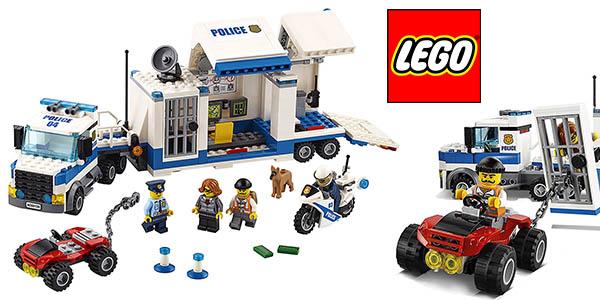 Lego Coty Centro de control camión y figuras policía barato