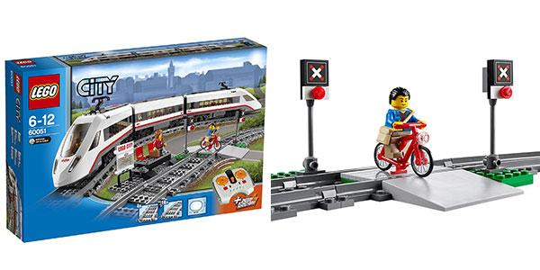 Lego City - Tren de pasajeros con 3 figuras rebajado