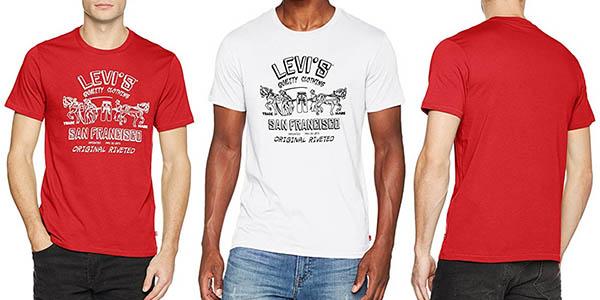 Levi's 2 Horse Graphic camiseta para hombre manga corta barata