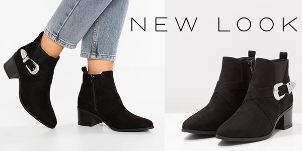 New Look Chelsea botines de tacón para mujer baratos