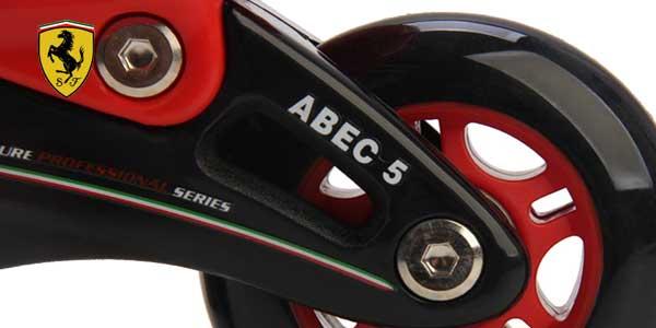 Comprar Patines ajustables Ferrari FK7 en color rojo o negro en línea chollo en eBay España