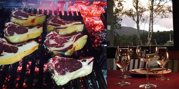 plan gastronómico en pareja Asturias barato