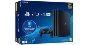 PlayStation 4 Pro + 20€ saldo PS Store