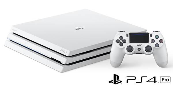 PS4 Pro blanca + Gran Turismo Sport con descuento
