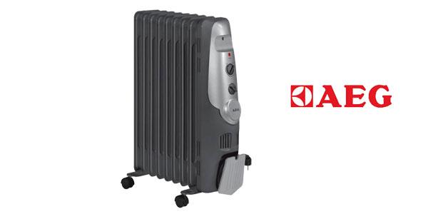 Comprar Radiador de aceite AEG RA 5521 - 2000 W, 9 elementos, termostato, 3 niveles barato en Amazon España