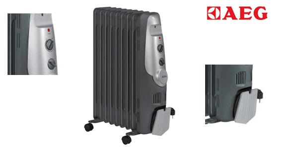 Comprar Radiador de aceite AEG RA 5521 - 2000 W, 9 elementos, termostato, 3 niveles chollo en Amazon España